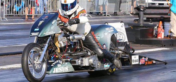 Team Vreeland's Harley-Davidson/Numidia Dragway heads to Bristol with a new goal