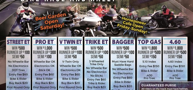 Thunder Between the Rivers Bike Race and Rally 8/19-21