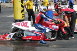 Lucas Oil father and son, teammates Hector Arana Sr. and Jr. make gains in Chicago