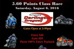 CSRA 5.60 at Darlington Dragway 8/6