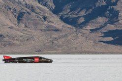 The Carpenter Racing Triumph Rocket returns to Bonneville