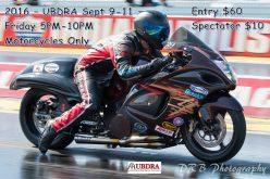 UBDRA 2016 Black Sunday – September 9-11
