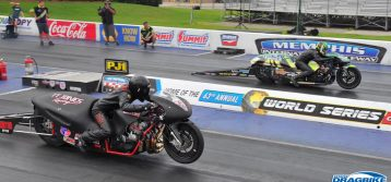 PDRA : Memphis Drags Pro Extreme Motorcycle Results