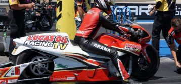 Hector Arana Jr. hopes to use momentum to reach Lucas Oil Nationals winner's circle