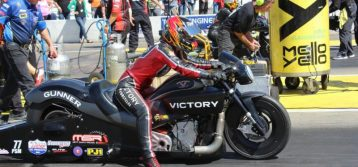 Victory Motorcycles riders Matt and Angie Smith leave Brainerd wanting more