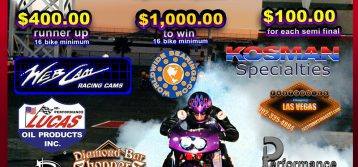 Sportsman Motorcycle Bracket Shootout 9/17
