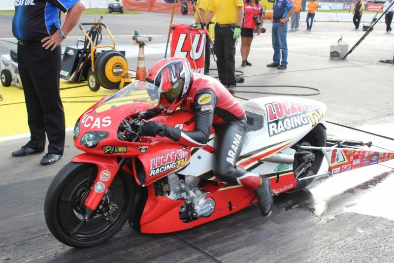 Lucas Oil Racing TV's Hector Arana Jr  would love another