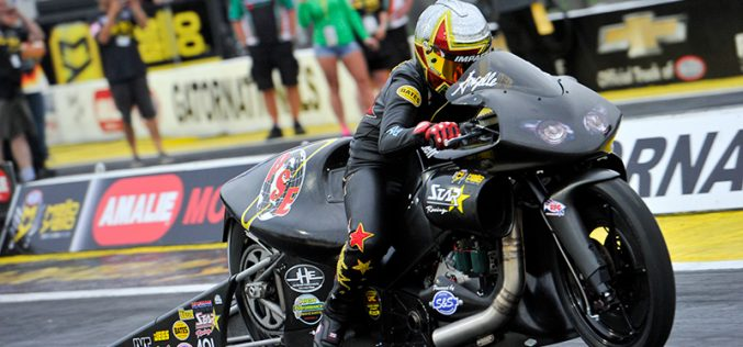 NHRA : U.S. Nationals Has More Meaning This Year for Angelle Sampey