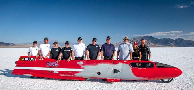 Valerie Thompson shatters 300 mph barrier at Bonneville