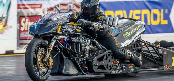Video : Rikard Gustafsson Top Fuel Motorcycle Run 6.02