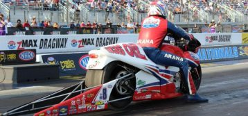 Hector Arana Sr.'s birthday present? Racing his son in Charlotte first round