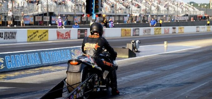 Cory Reed Enters First Countdown Raceday at NHRA Carolina Nationals