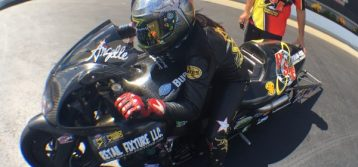 Angelle Sampey Collects 49th No. 1 Qualifier of Career at zMAX Dragway
