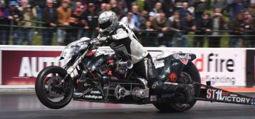 EDRS Pro Nordic MC frontrunners race at Euro Finals at Santa Pod