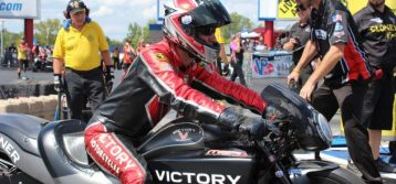 Victory Motorcycles pro rider Matt Smith takes full blame for Round 1 loss in Charlotte