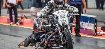 FIM-E European Drag Racing Championship : Euro Finals from Santa Pod