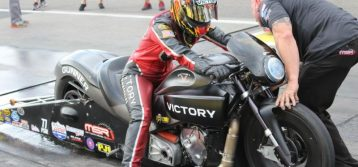Angie Smith's goals are simple: Help her husband win a third NHRA title