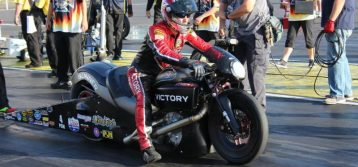Time is of the essence for Victory Motorcycles championship contender Matt Smith