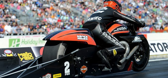 Pro Stock Motorcycle Standout Eddie Krawiec Coming On Strong