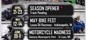 NHDRO : 2017 Motorcycle Drag Racing Schedule