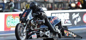 Nitro Harley's Return to Rockingham Dragway