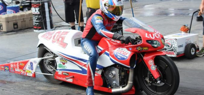 Hector Arana Sr. busier than expected in lead-in to NHRA Four-Wide Nationals