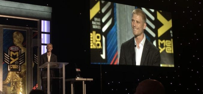 NHRA Names Cory Reed 2016's Auto Club Road to the Future Award Winner