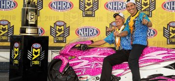 NHRA : Interview with Pro Stock Motorcycle Champion Jerry Savoie