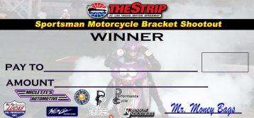 Sportsman Motorcycle Bracket Shootout 2/18
