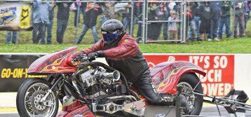 NHRA Nitro Harley : Results from Heartland Nationals