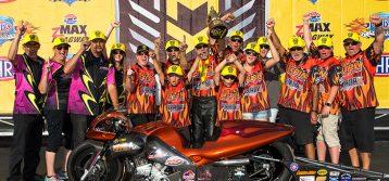 NHRA : Carolina Nationals Pro Stock Motorcycle Results