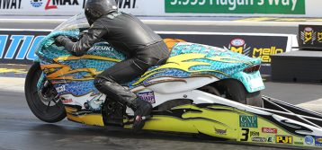 NHRA : Pro Stock Motorcycle Results from the Texas Fall Nationals