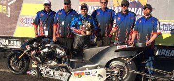 NHRA Nitro Harley : Results from Pomona
