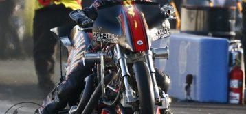 NHRA Nitro Harley : Results from Arizona