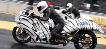 EDRS : Wagenius Racing Team promote drag racing at MC-messen 2017