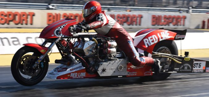 EDRS : Bentec Supports Super Twin and Top Fuel Motorcycle
