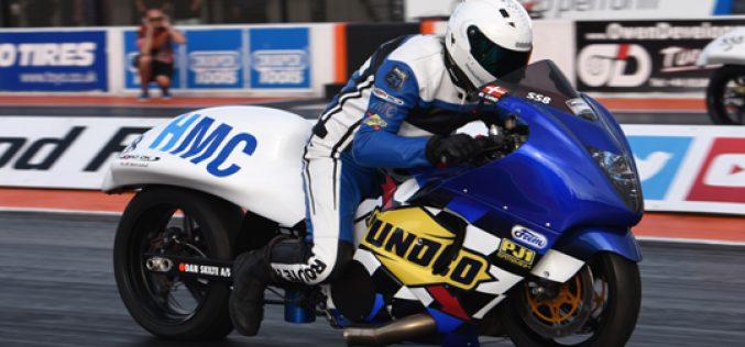 EDRS : Invasion of Pro Nordic Motorcycles at Santa Pod Raceway