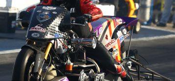 NHRA Nitro Harley : Results from Thunder Valley
