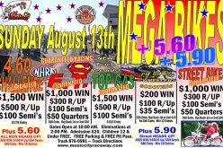 Mega Bikes : Round 3 Returns to Music City Raceway August 13th