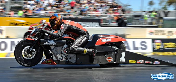 NHRA : Mickey Thompson Tires to Sponsor Pro Bike Battle