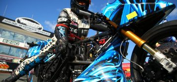 Australian Top Fuel Motorcycle Champion Set for Territory