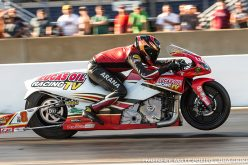 Hector Arana Jr. uses track speed record to earn No. 2 qualifying spot in Chicago