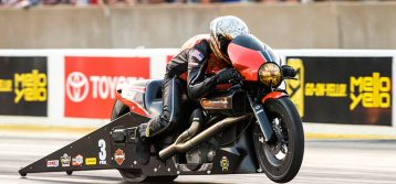 NHRA : Pro Stock Motorcycle Champ Andrew Hines Looking to Hit Stride