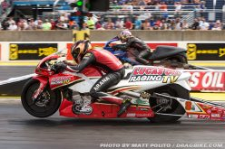 Lucas Oil Racing TV rider Hector Arana Jr. manages runner-up finish in Chicago