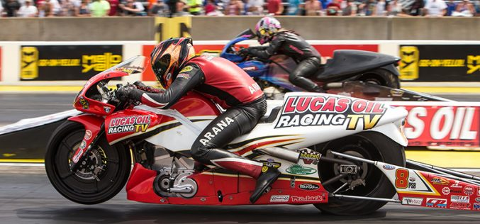Lucas Oil Racing TV rider Hector Arana Jr. manages runner-up finish in Chicago