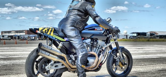 Team FTF Cycles Debuts XR1200 and Sets 8 Land Speed Records