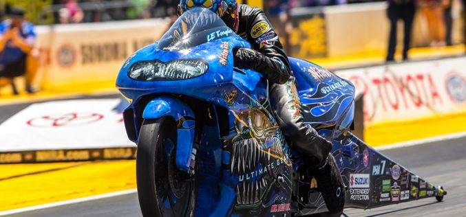 NHRA : Pro Stock Motorcycle Results from Sonoma