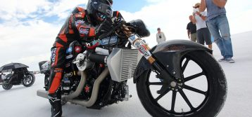Hiro Koiso : The Fastest Open Motorcycle at Bonneville