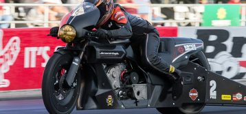 NHRA : Pro Stock Motorcycle Results from Texas Motorplex