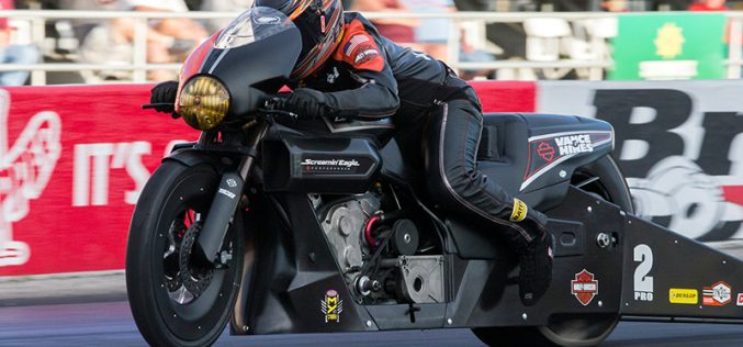 NHRA : Pro Stock Motorcycle Results from U.S. Nationals